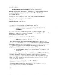 Compte-rendu du conseil municipal du 2 octobre 2015