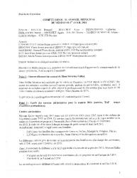 Compte-rendu du conseil municipal du 1er avril 2016