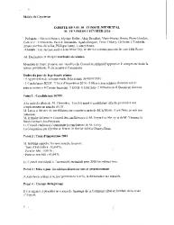 Compte-rendu du conseil municipal du 5 février 2016