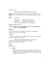 Compte-rendu du conseil municipal du 6 mars 2015 :