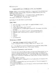 Compte-rendu du conseil municipal du 6 mai 2016