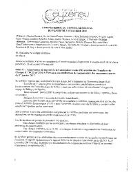 Compte-rendu du conseil municipal du 2 décembre 2016