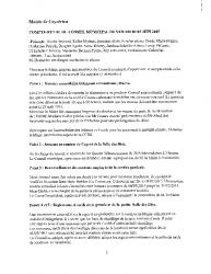 Compte-rendu du conseil municipal du 5 juin 2015
