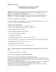 Compte-rendu du conseil municipal du 4 décembre 2015
